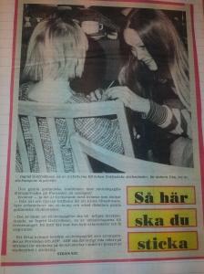 så här ska du sticka! artikel i GT 4 januari 1982